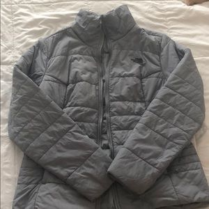 North Face light puffer jacket